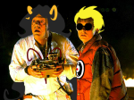 1s_th1s_you aradia_megido back_to_the_future crossover dave_strider image_manipulation source_needed