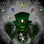 blood die die-6 felt solo voodoo_doll