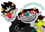 crossover karkat_vantas largm lemonsnout scalemates sesame_street terezi_pyrope wut