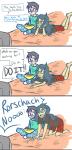 comic dc humanized john_egbert vriska_serket watchmen word_balloon yoshiie
