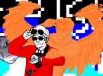 back_to_the_future crossover dave_strider davesprite pixel red_plush_puppet_tux source_needed sourcing_attempted sprite