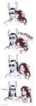 ancestors au blush comic darkmaid expatriate_darkleer invalidgriffin kiss non_canon_design redrom shipping the_handmaid wut
