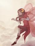 aradia_megido boston broken_source clouds crossover godtier lyricstuck maid midair solo time_aspect wicked