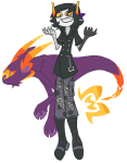 cosplay crossover gamzee_makara lusus tesspieceface the_world_ends_with_you
